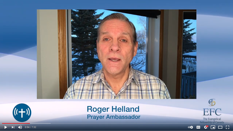 Roger Helland on the fire of ceaseless prayer