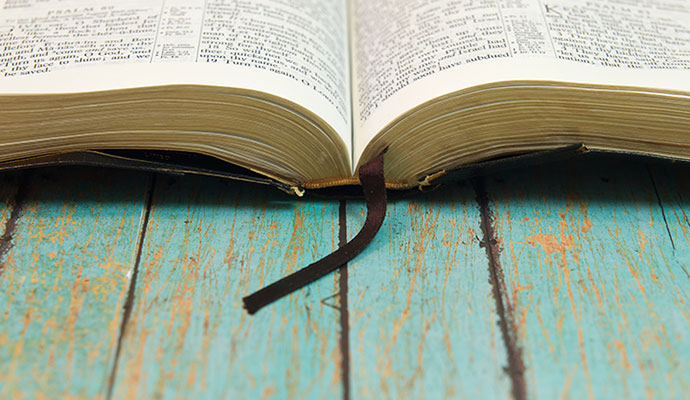 Evangelicalism - Open Bible, God's Word